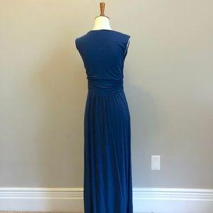 Anthropologie Dresses - Navy Blue Maxi